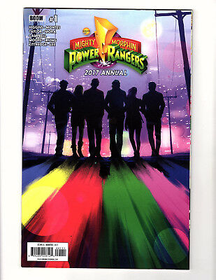 Mighty Morphin' Power Rangers Annual #1 (2017, Boom! Studios) VF/NM Giant-Size