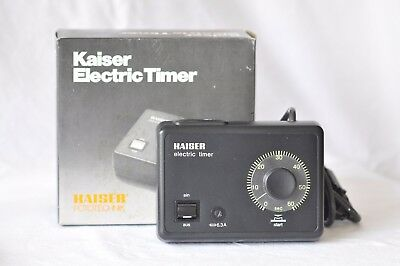 KAISER Electric Timer 4031 (Typ 1- 60 s)