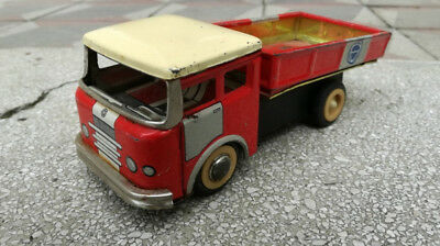 Blechspielzeug MF936 Red LKW Friction Works A Vintage Made in China