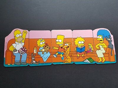 The Simpsons Fridge Magnets 2002 Set of 5 Coco Pops Bart Homer Simpson