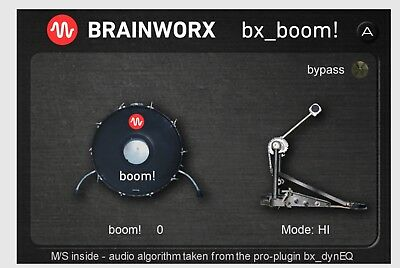 Brainworx bx_Boom - Plugin Alliance