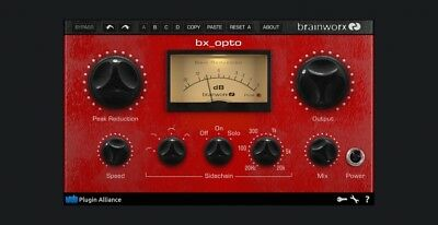 Brainworx bx_Opto - Plugin Alliance