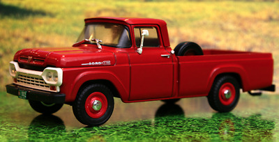Ford F-100 1959 Argentina Rare Diecast Scale 1:43 New Sealed With Magazine