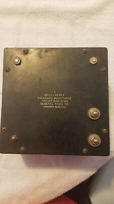 Vintage General Radio Type 106G Standard Inductance 1mH, AS-IS