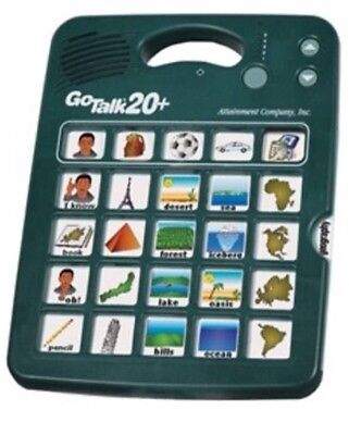 GoTalk20+ Communication Device for Recorded Words and Messages