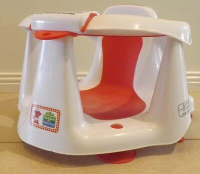 """Bath Seat """"Sesame Beginnings"""" with Four Suction Pads Base Age 6 to 12 Months"""