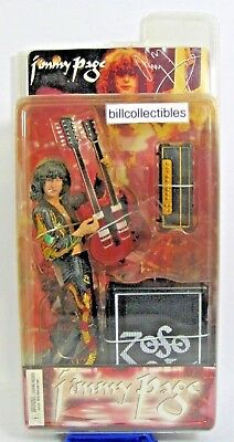 Jimmy Page Dragon Suit Action Figure - Led Zeppelin, Neca, Sealed In Package