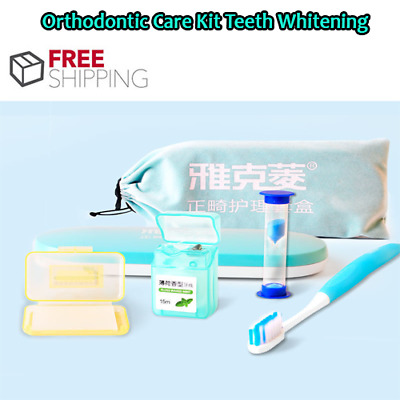 Y-Kelin Orthodontic Care Kit Orthdontic Teeth Whitening Kit Orthodontic Toothbru