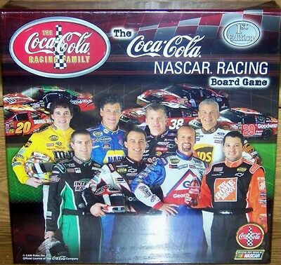 2004 Coca-Cola Nascar Racing Board Game 1St Edition - Brand New