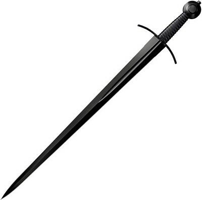 """Cold Steel 88ARM MAA Arming Sword 28"""" Blade & Leather Scabbard Sheath"""