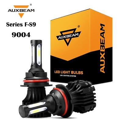 Auxbeam 3 Sides 9004 HB1 72W 8000LM 6500K LED Headlight Bulbs Lamp High Low Kit