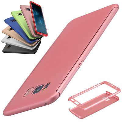 Samsung Galaxy S8+/S7/S6 Edge Case Ultra Thin Shockproof Full Body Armor Cover