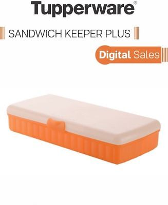 Tupperware Lunch n Things Sandwich Keeper Plus- 4 compartments Box Free Ship