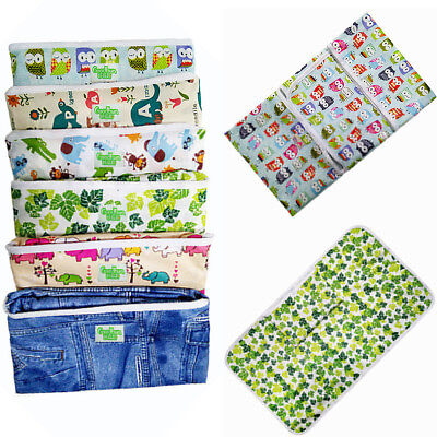 Portable Baby Infant Diaper Nappy Urine Mat Waterproof Travel Changing Cover Pad
