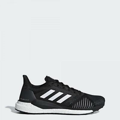 b8d0292aac7c1 Adidas Running Solar Glide Stability Mens Black Shoes Trainers - CQ3178