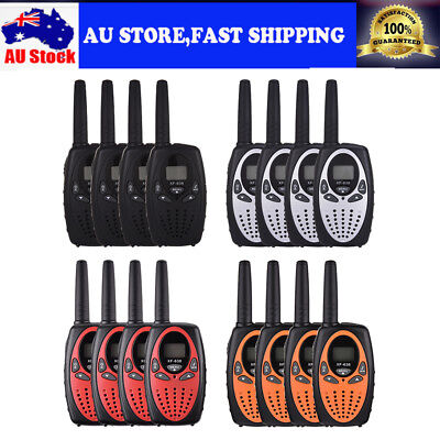4PCS Portable Walkie Talkie Hand Held Two-Way Radio Long Range 22 Channel AUship