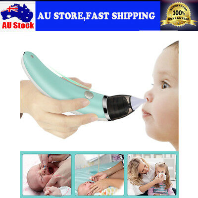 Electric Nasal Aspirator Safe Hygienic Automatic Snot Sucker Nose Cleaner Infant