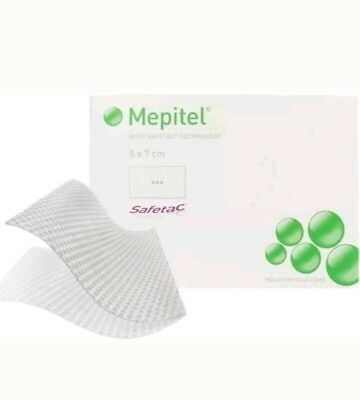 Mepitel Silicone Wound Contact Layer 5cm x 7cm (x5)