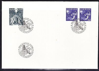 Sweden 1981 Booklet & Railway  First Day Cover  Unaddressed