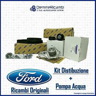 Kit Distribuzione Con Pompa Acqua Originale Ford Motorcraft - Fiesta V - C-Max