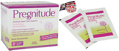 Pregnitude Reproductive support Dietary Supplement, Fertility booster 60 packs