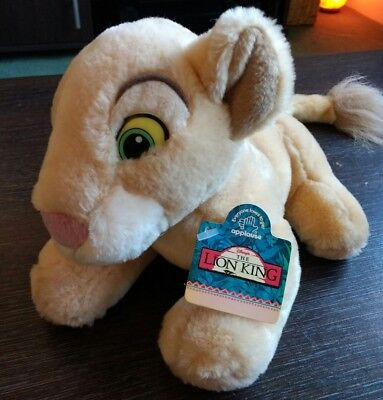 Rare New With Tags Applause Disney Lion King Baby Nala 8 inch Soft Toy Plush