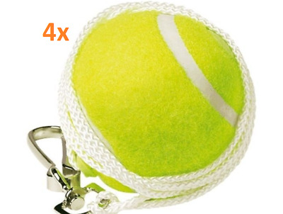 4 Piece Totem Tennis Ball Replacement Backyard  Trainer Spare Ball Hook & String