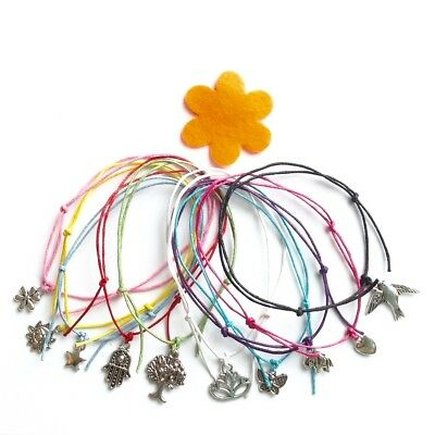 Hippy Ankle Bracelet - 10 Designs - Elephant Lotus Flower Sun Star Butterfly ...