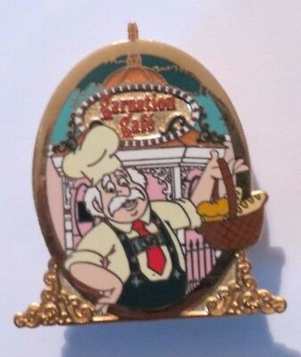 Disney Dlr Dining Chef #5 Carnation Cafe Maurice Beauty & Beast Le 10000 Pin