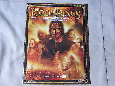 The lord of rings trilogy poster magazine collector 6 posters double + 12