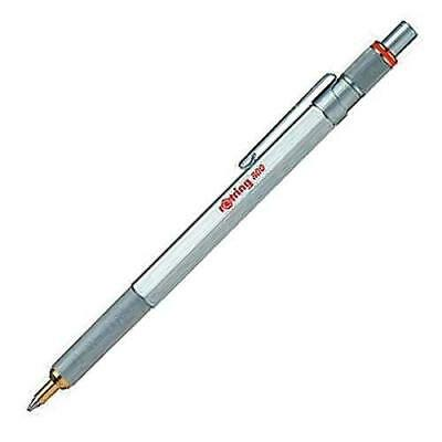 rOtring 800 series Ballpoint Pen Silver Knock Type 2032580 Japan Limited New
