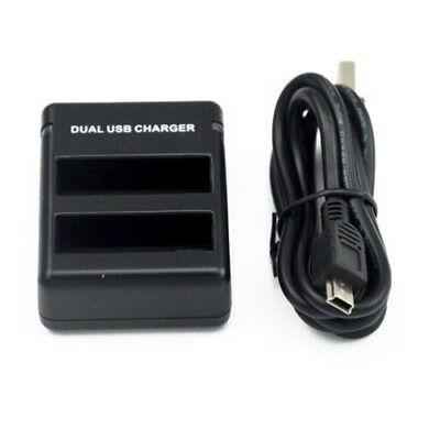 Dual Battery Charger for GoPro HERO 4