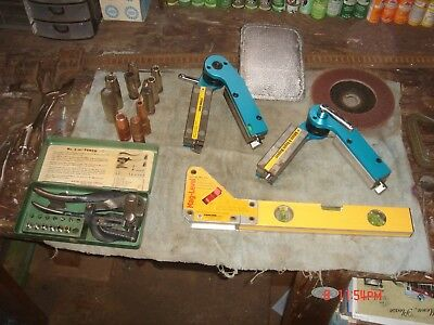 welding/metal fabricating magnetic clamps and misc, metal fabricating tools