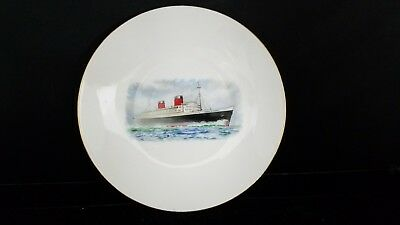 """Vtg Crown Staffordshire Bone China England SHIP bread and butter Plate 6 1/4""""d"""