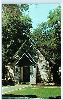 Restland S Little Church In The Wildwood Dallas Texas Cemetery Postcard B29