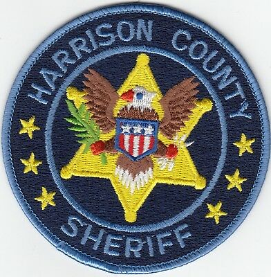 Harrison County Sheriff Shoulder Patch Mississippi Ms