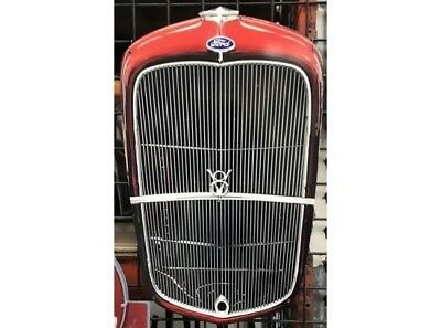 FORD 1932 GRILLE DIECUT METAL SIGN free postage