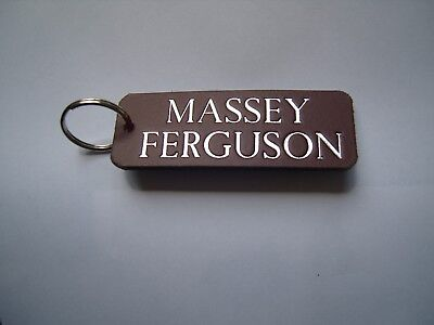 Massey Ferguson Tractor Keyring Fob For Vintage , Antique Or Modern