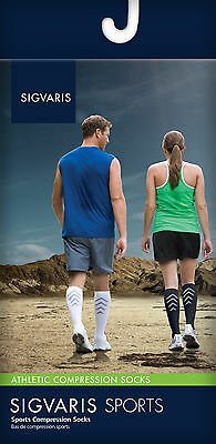 SIGVARIS ATHLETIC RECOVERY SOCKS (Unisex), ALL SIZES & COLORS, 15-20 mmHg, #401C