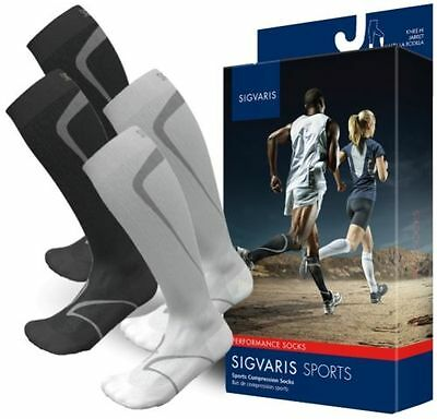 SIGVARIS PERFORMANCE TRAVERSE SOCKS (Unisex) ALL COLORS/SIZES, 20-30 mmHg, 412-C