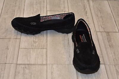 23da7d07355 SKECHERS RELAXED FIT Career Puzzling Shoes Style 49212 Black Women s ...