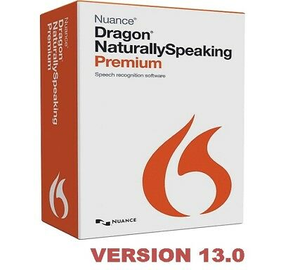 Nuance Dragon Naturally Speaking Premium v13.0 Instant Delivery