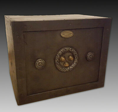 French small Safe Strongbox - 19th century