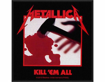 Metallica - Kill 'Em All - 2013 - WOVEN SEW ON PATCH - free shipping