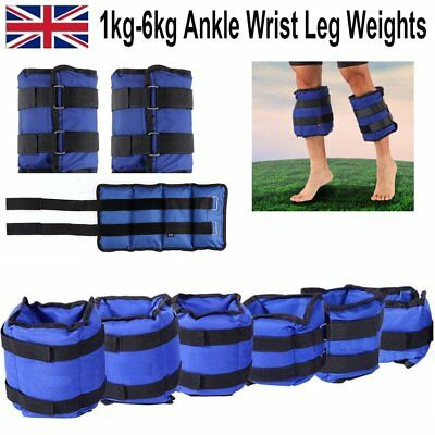 Ankle Wrist Weights Leg Strap Resistant Exercise Fitness Gym Strength Training
