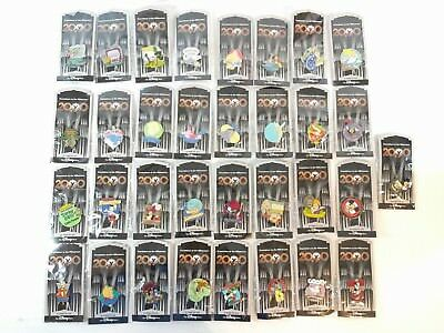 Lot of 33 NEW Disney Store 2000 Countdown to the Millennium Trading Pins