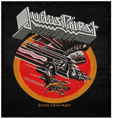 Judas Priest Screaming For Vengeance  - WOVEN SEW ON PATCH - free shipping