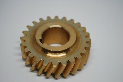 Hobart Food Processor Brass Helical Gear 24 Teeth For Worm Drive