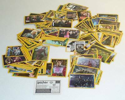Lot 175 Figurine Sticker Panini Harry Potter Calice Fuoco Goblet Fire Coupe Feu