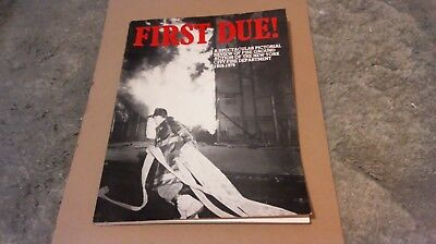 First Due ! Fdny Pictorial Review 1959 - 1979 - Excellent Condition